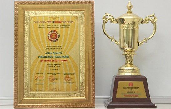 Thẩm mỹ viện Bs Hà Thanh vinh dự nhận giải thưởng thương hiệu uy tín ASEAN 2015