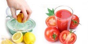 Cách chữa thâm quầng mắt với chanh, bột nghệ, cà chua