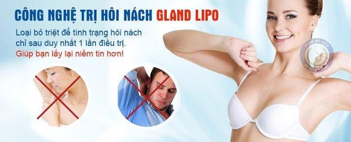 Cách chữa và điều trị bệnh hôi nách hiệu quả với công nghệ Gland Lipo
