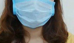 Huỳnh Nhi ngay sau khi cắt mí mini line tại Hà Thanh