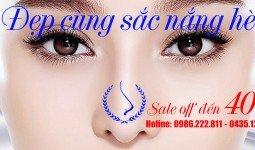 Banner khuyến mãi tháng 4 thẩm mỹ bác sĩ Hà Thanh