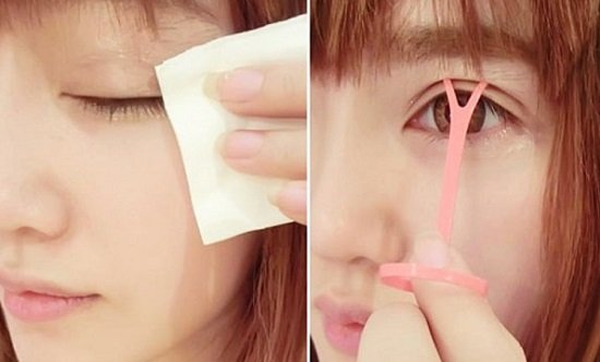 Cách khắc phục hai mắt không bằng nhau bằng trang điểm