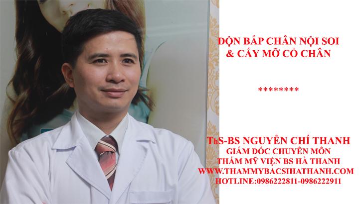 Bác sĩ Thanh chia sẻ ai có thể độn bắp chân