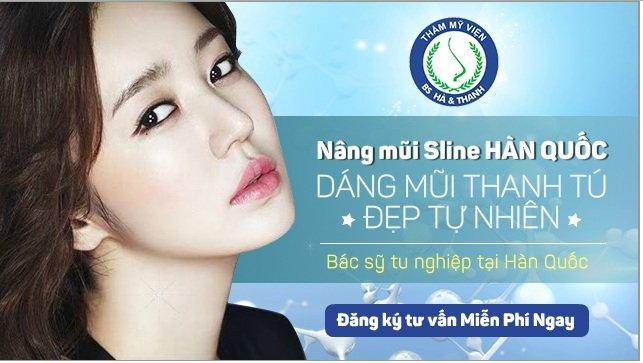 Thẩm mỹ bác sĩ Hà Thanh địa chỉ nâng mũi S line 3D tạo hình