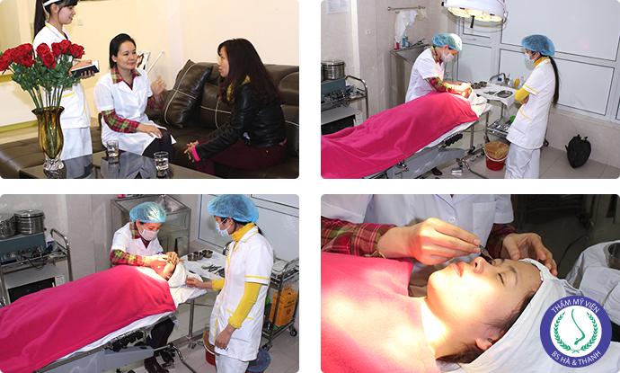 Quy trình cắt mắt 2 mí Hàn Quốc tại Hà Thanh