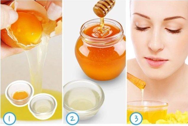 Chanh trứng gà điều trị mụn cho da nhờn, da dầu