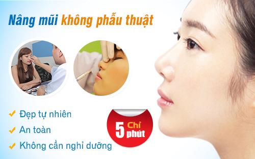 Lợi ích của nâng mũi không phẫu thuật