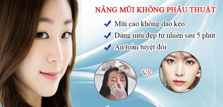 Thực hư cách làm mũi cao không cần phẫu thuật