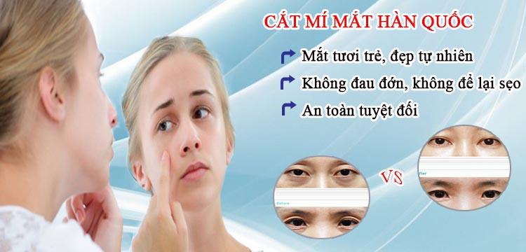 Hà Thanh - Giải đáp cắt mí mắt có đau không