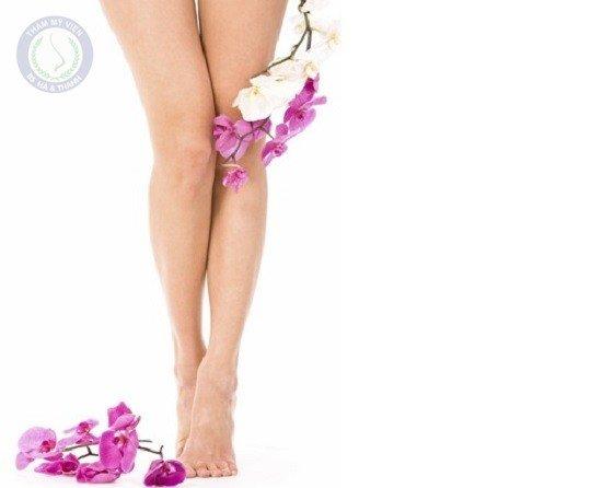 Triệt lông chân theo phương pháp dân gian