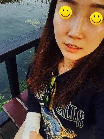 Kiều Trang tự tin với chiếc mũi kém xinh