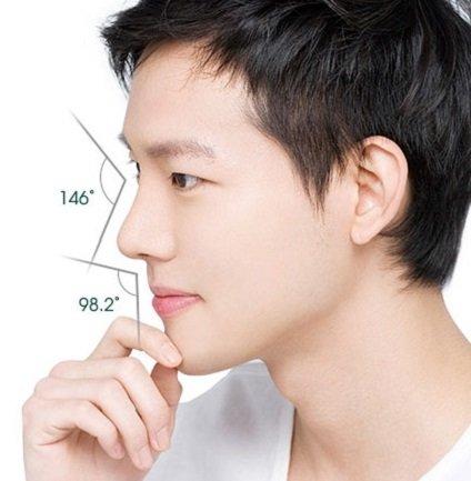 Công Khanh nâng mũi bọc sụn Hàn Quốc