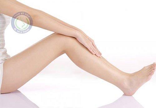 Cách chữa hết sẹo lồi ở chân