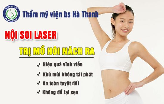 Chữa trị mồ hôi nách vĩnh viễn với công nghệ nội soi laser