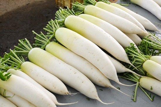 Cách chữa và trị hôi nách triệt để với củ cải trắng