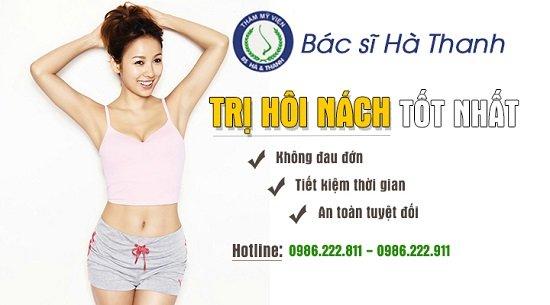 Hà Thanh - Mách cách chữa trị hôi nách tốt nhất