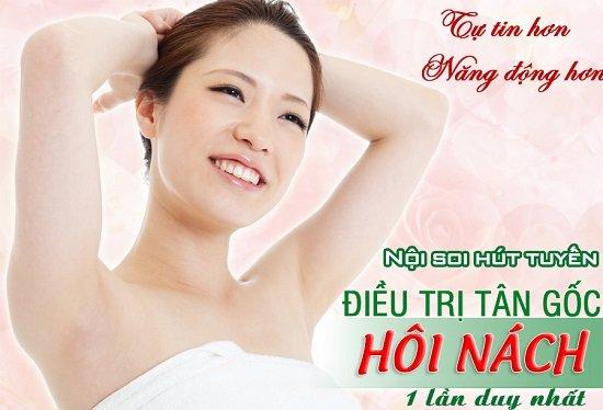 Bác sĩ Hà Thanh nói về cách chữa trị hôi nách có an toàn không