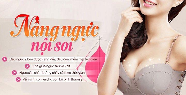 Vi khắc phục ngực lép bằng thẩm mỹ nâng ngực nội soi