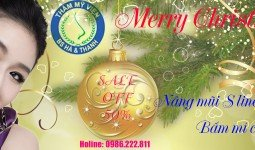 Banner khuyến mãi mừng Noel