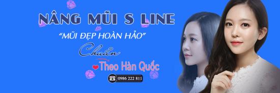 Nâng mũi Hàn Quốc S Line