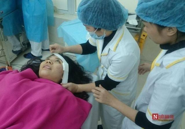 Sau phẫu thuật, băng ép tại chỗ