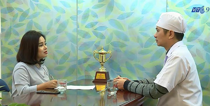 VTC9 phỏng vấn bác sĩ Nguyễn Chí Thanh về nhấn mí cắt mí có đau không