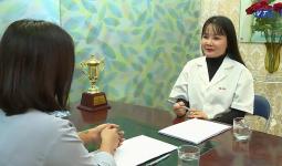 Bác sĩ Thu Hà trả lời phỏng vấn của VTC9