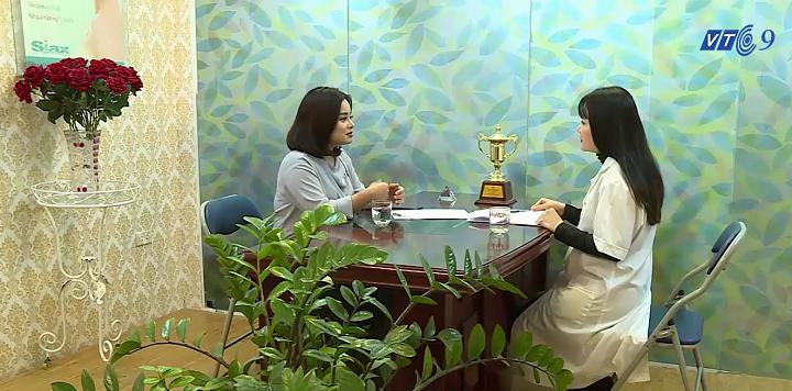 VTC9 phỏng vấn bác sĩ Hà về vấn đề live stream phẫu thuật thẩm mỹ
